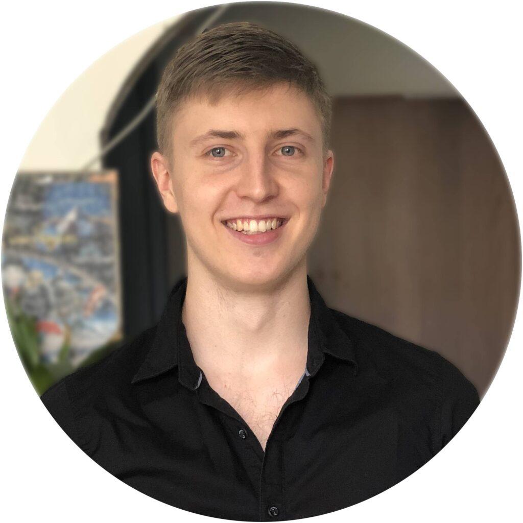 Usmívající se Martin Gargoš Webdesignér